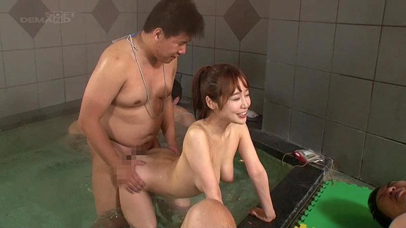 お風呂でセックス