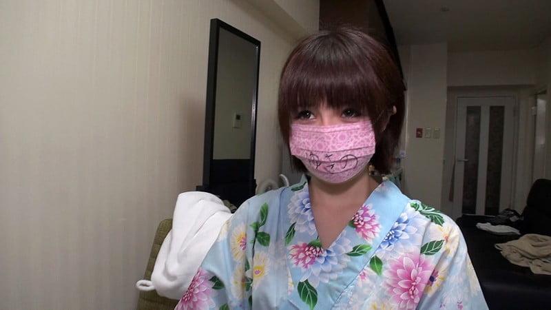素人マスク女子