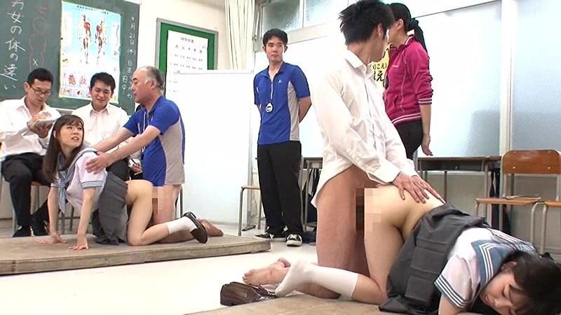 身体検査でレイプされる女子校生