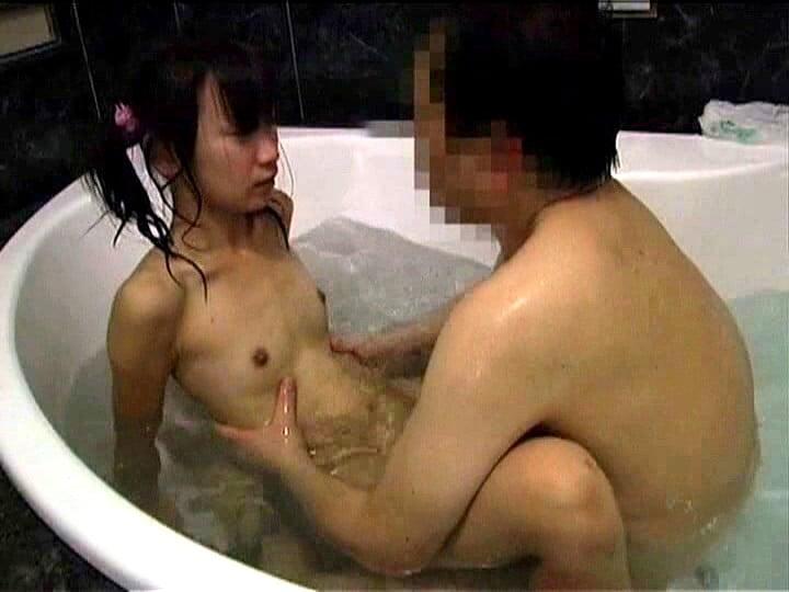 裸でお風呂