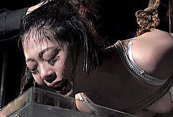 七海ゆあ 生意気娘を緊縛し吊るして水攻めするSM拷問がヤバい((((;゚Д゚))))ガクガクブルブル