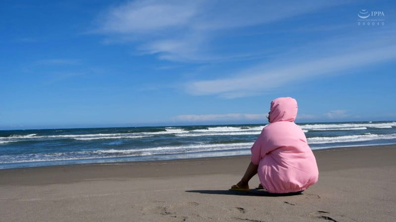 ロリとビーチ